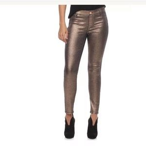 Juicy Couture Metallic Pull-On Jegging NWT